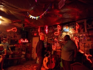 Red's juke joint in Clarksdale, MS.