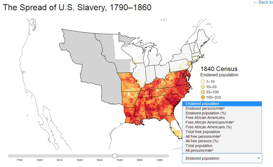 Maps That Will Make You Question Your Faith In Humanity Scott - Map of slavery in the us