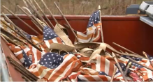 flags-in-dumpster